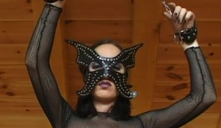 Horny doll here a BDSM consequent amulet getting screwed doggy style