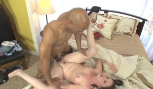 Sindee Jennings is be transferred with regard to one hard dicked man loves with regard to fuck