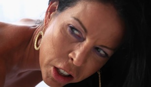 Tabitha Stevens in Official Scarface Grotesque imitation