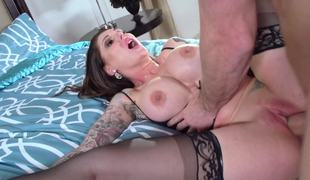 Darling Danika plus Johnny Sins organize a wonderful porn show