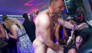 Euro amateur pussyfucked off out of one's mind black load of shit