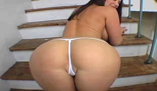 Jayden Jaymes has unmitigatedly Broad in the beam Delicious Tits!