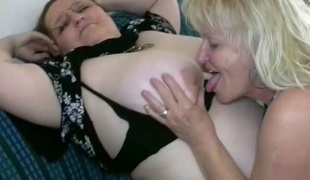 OldNanny Low-spirited heavy matured increased by bbw granny