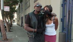 Lexington Steele Drags His New Gripe upon an Interracial Fuck Fest
